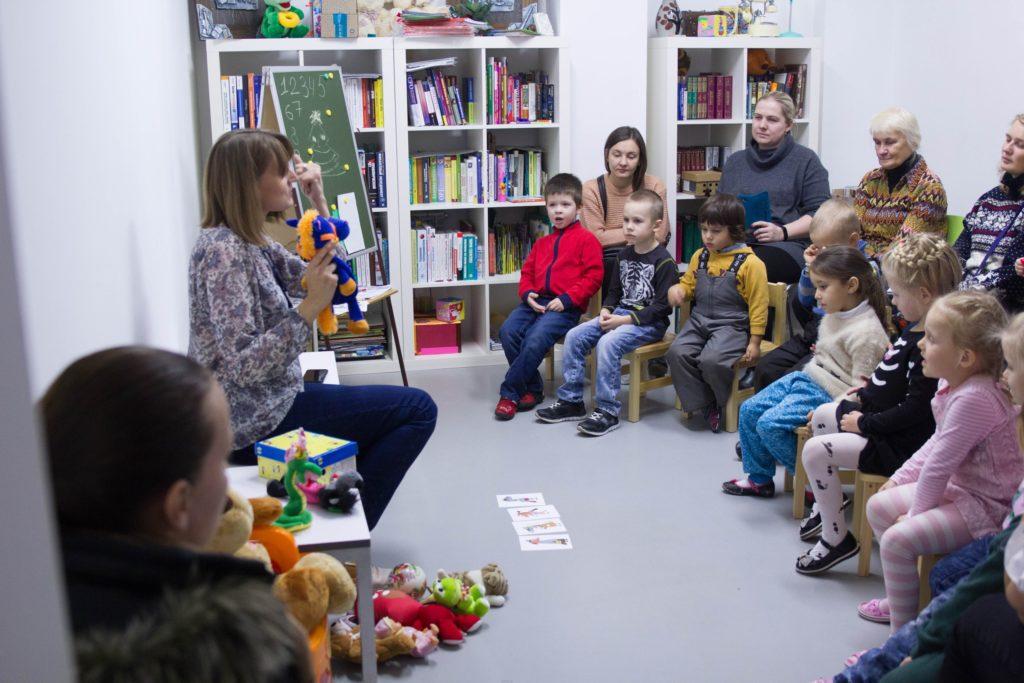 Открытый урок по английйскому языку в детском центре «Пеппи»